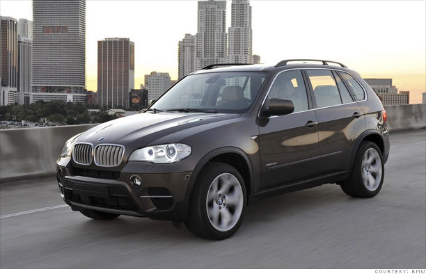cars top 10 best resale value   4 bmw x5 4   cnnmoney