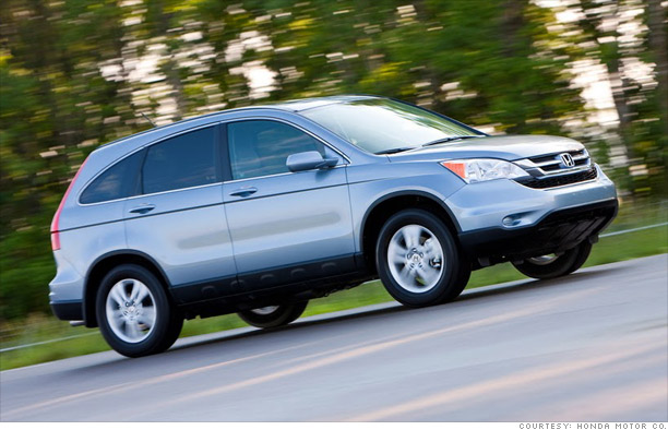 1. Honda CR-V