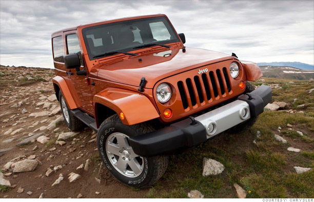 cars top 10 best resale value   2 jeep wrangler 2   cnnmoney
