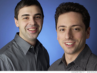 5. Sergey Brin and Larry Page