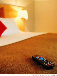 Hotel in-room movies - 200% markup