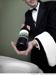 Wine at restaurants - 500% markup