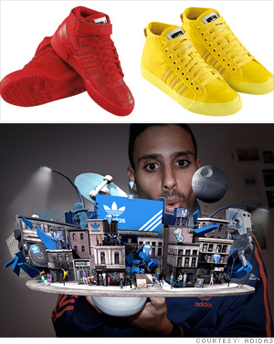 Adidas' gaming sneaker