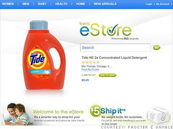 Procter & Gamble's new  e-Store