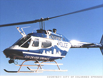 Police choppers get grounded - Colorado Springs
