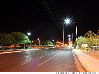Street lights go dark - Colorado Springs