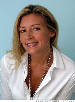 Karen Garvey, 45, self-employed