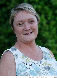 Mary Pitman, 54, employed full-time
