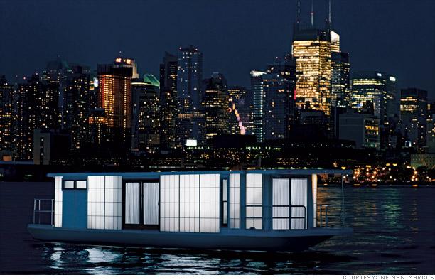 MetroShip houseboat
