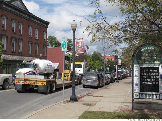 Small town, big traffic