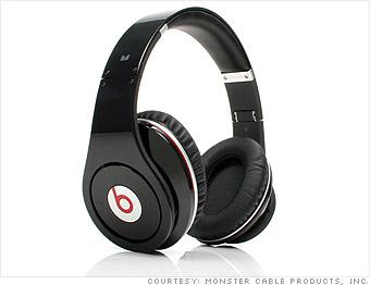 Retro-style headphones