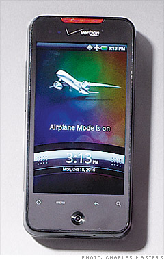HTC Droid Incredible smartphone