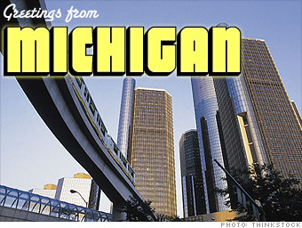 Least popular: Michigan