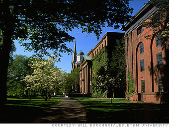 Colleges In Ct >> Most expensive colleges - Wesleyan University (6) - CNNMoney.com