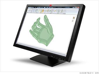6) The ten finger touch screen