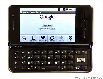 2) A different kind of Android phone  