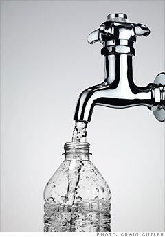 Food: Water - Tap or bottled?
