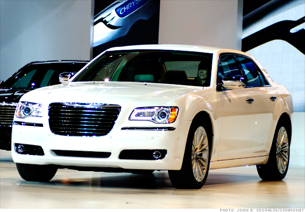 New chrysler 300 detroit auto show