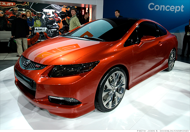 detroit auto show the future is here   honda civic