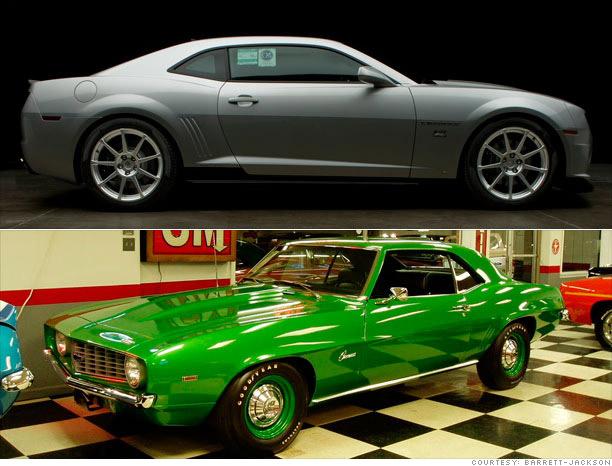 Camaro 2010 -1969