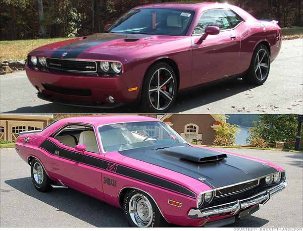 Collector Cars Modern Vs Classic Dodge Challenger