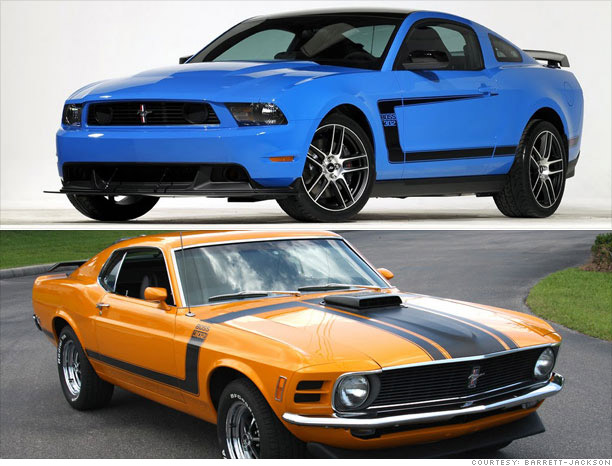 Collector Cars Modern Vs Classic Boss Mustang