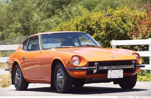 classic cars bargain prices 1971 73 datsun 240z 1. Black Bedroom Furniture Sets. Home Design Ideas
