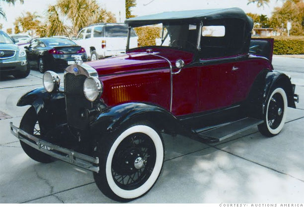 Classic Cars Bargain Prices Ford Model A Roadster - Classic car 1930