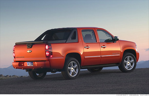 Pickup: Chevrolet Avalanche