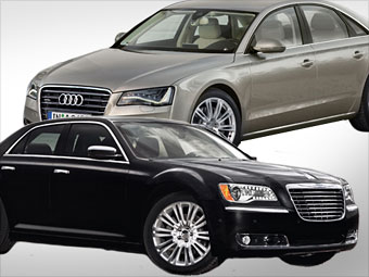 Chrysler 300C vs. Audi A8