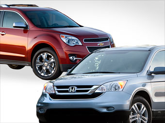 Chevrolet Equinox vs. Honda CR-V