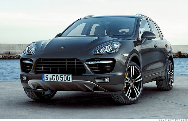 Fast and fancy - Porsche Cayenne