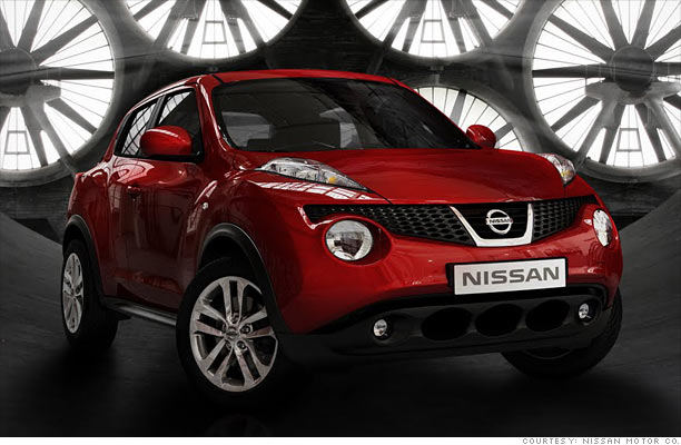 with cars like these who needs hybrids nissan juke 4. Black Bedroom Furniture Sets. Home Design Ideas