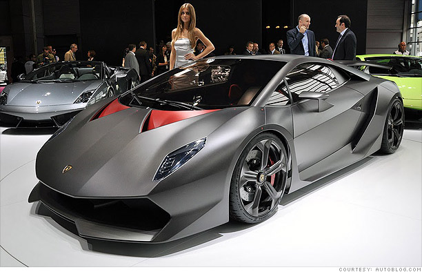 Exotic Cars For Eco Millionaires Lamborghini 2 Cnnmoney Com