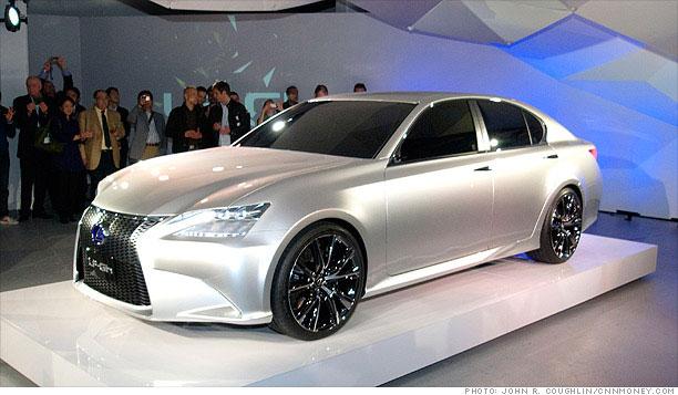 This lexus hybrid concept car quot explores quot design features that will