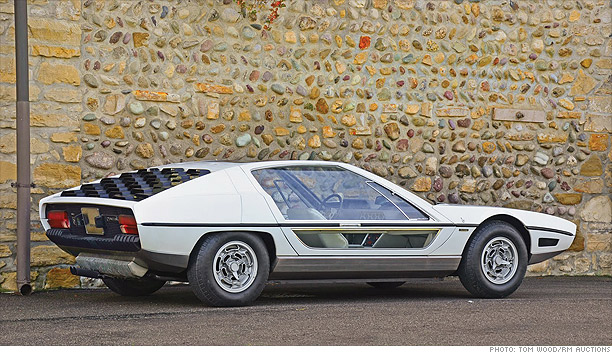 ... the future - from the 70s - 1967 Lamborghini Marzal (2) - CNNMoney.com