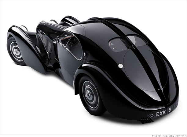 1938 Bugatti 57 SC Atlantic Coupe