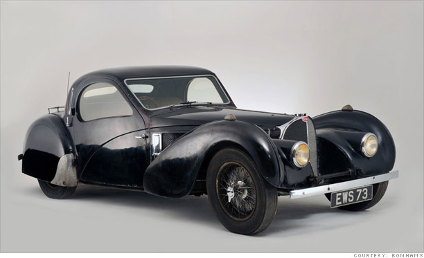 1937 Bugatti Type 57S: $4.4 million