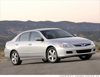 For instance: 2007 Honda Accord EX