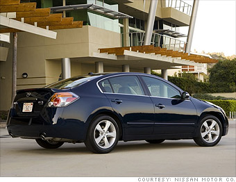 For Instance: 2008 Nissan Altima SE