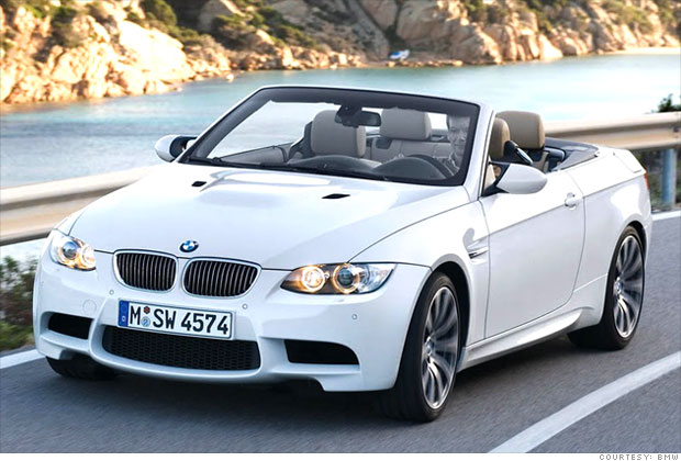 12 wicked fast convertibles bmw m3 convertible 1 cnnmoney. Black Bedroom Furniture Sets. Home Design Ideas