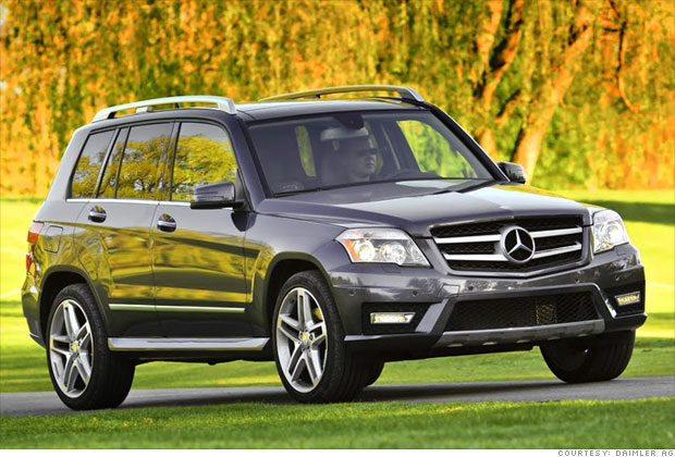 Jd power best suv 2014 autos post for Mercedes benz glk reliability