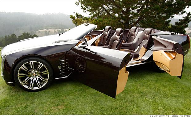 cadillac 39 s huge tastic convertible wide open doors 4 cnnmoney. Black Bedroom Furniture Sets. Home Design Ideas