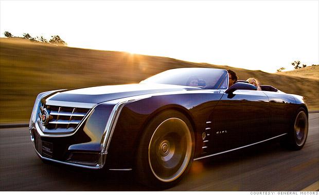 Cadillac Ciel Concept Price Tag - Cadillac's huge-tastic convertible - 21st century land ...