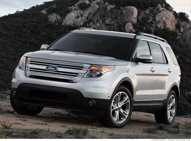 Red Hot Suvs Ford Explorer Cnnmoney
