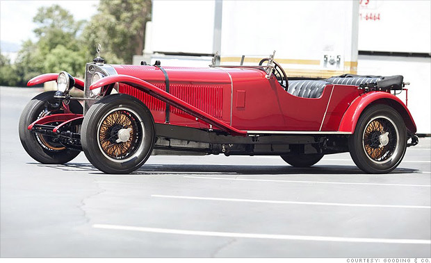 10 costliest cars at pebble beach 1927 mercedes benz s for Types of mercedes benz cars
