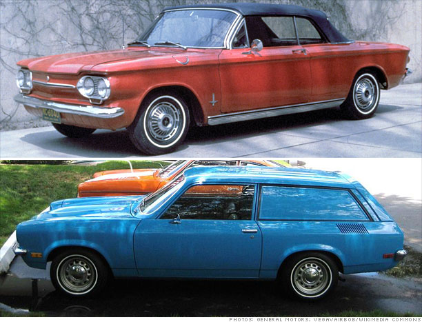 1960 Chevrolet Corvair/1971 Chevrolet Vega