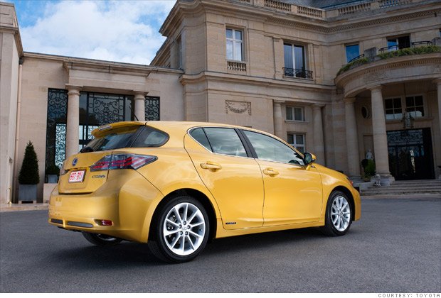 High MPG hatchback: Lexus CT200h