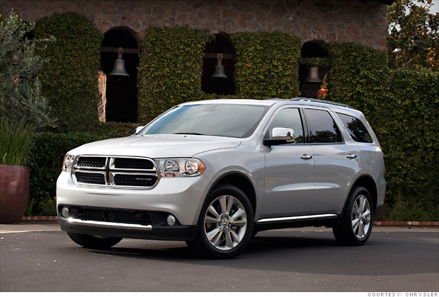 consumer reports  reliable cars large suv dodge durango  cnnmoney