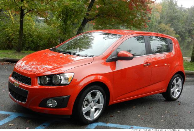Subcompact: Chevrolet Sonic